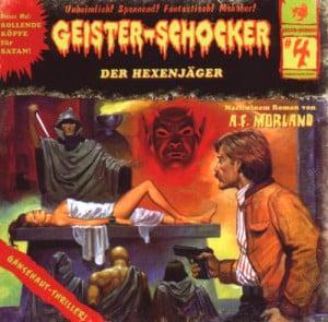 Geister-Schocker Cover - Der Hexenjäger