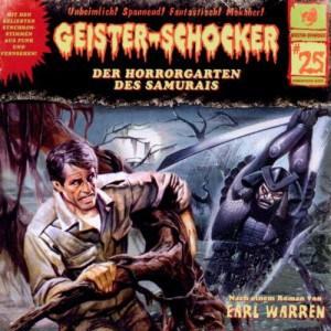 Geister-Schocker Cover - Der Horrorgarten des Samurais