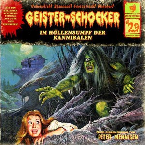 Geister-Schocker Cover - Im Höllensumpf der Kannibalen
