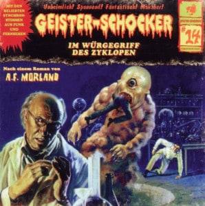 Geister-Schocker Cover - Im Würgegriff des Zyklopen