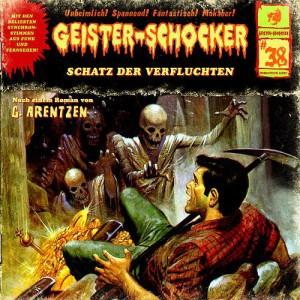 Geister-Schocker Cover - Schatz der Verfluchten