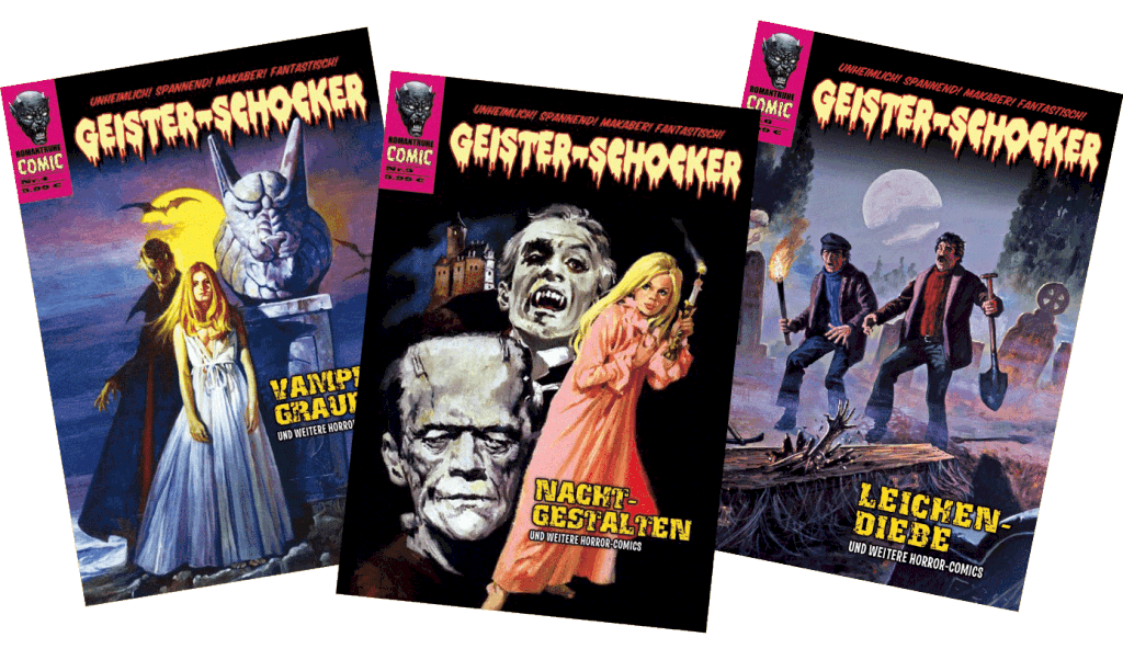 Geister-Schocker-Magazin