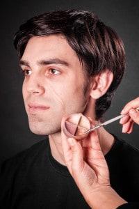 Narbe schminken (3)