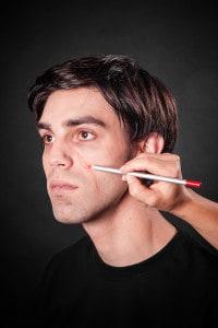 Narben schminken Tuplast (1)