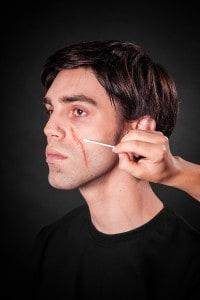 Narben schminken Tuplast (11)