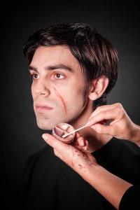 Narben schminken Tuplast (12)