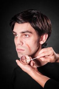 Narben schminken Tuplast (14)