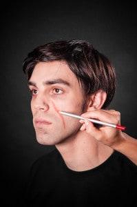Narben schminken Tuplast (2)