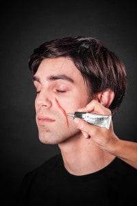 Narben schminken Tuplast (8)