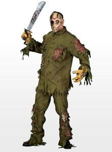 Platz 06 - Freitag der 13. Jason Kostüm