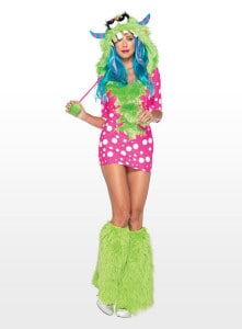 Platz 07 - Sexy Monster Diva Kostüm