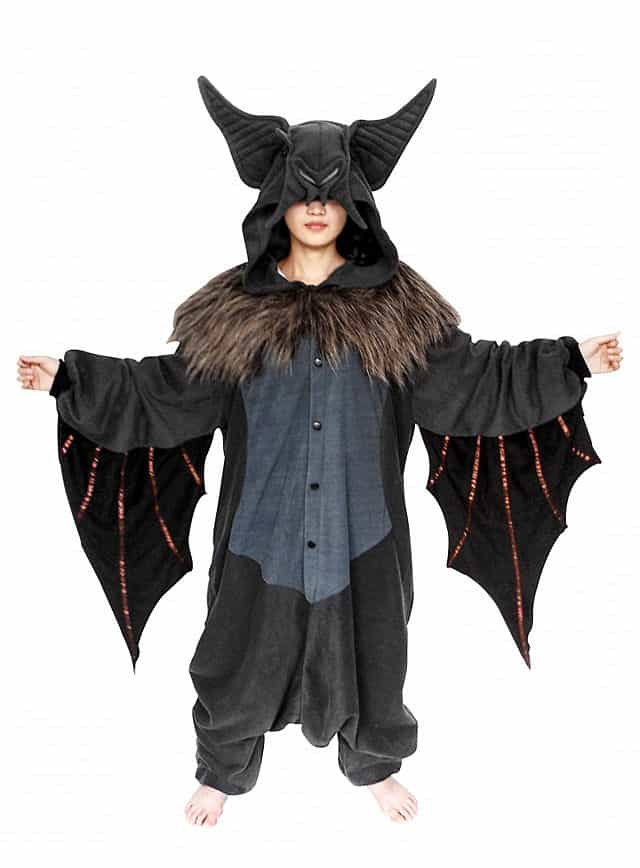 CozySuit Fledermaus Overall aus Fleece-112849