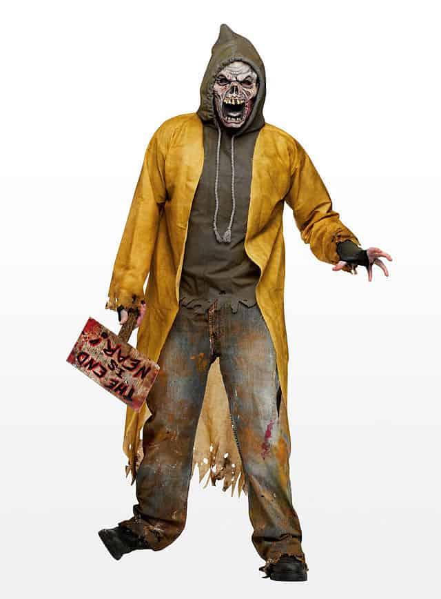 Ghetto Zombie Kostüm-113791