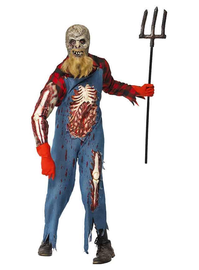 Hinterwäldler Zombie Kostüm-112593