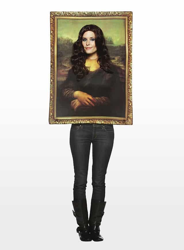 Mona Lisa Portrait Kostüm-112291