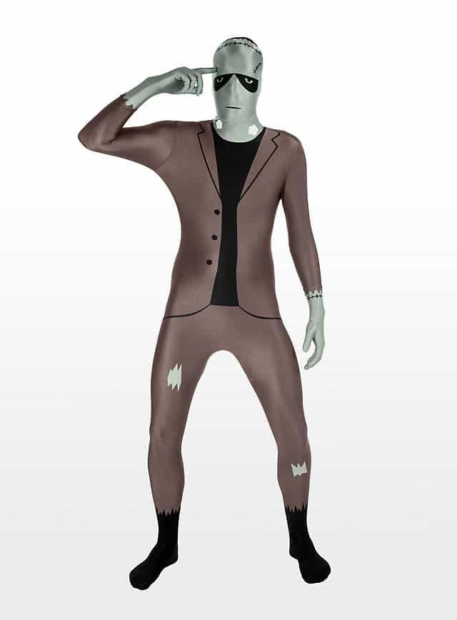 Morphsuit Frankenstein Ganzkörperkostüm-113415