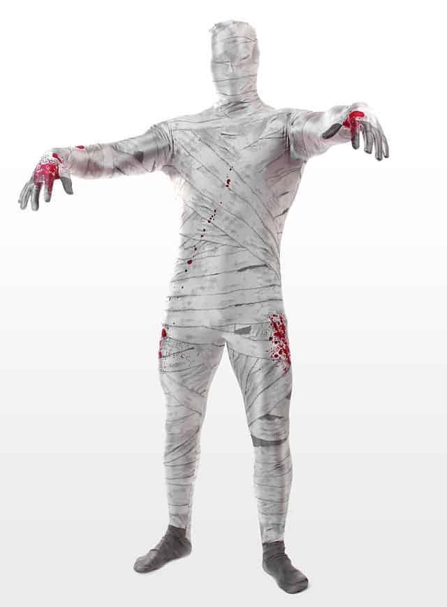 Morphsuit Mumie Ganzkörperkostüm-107706