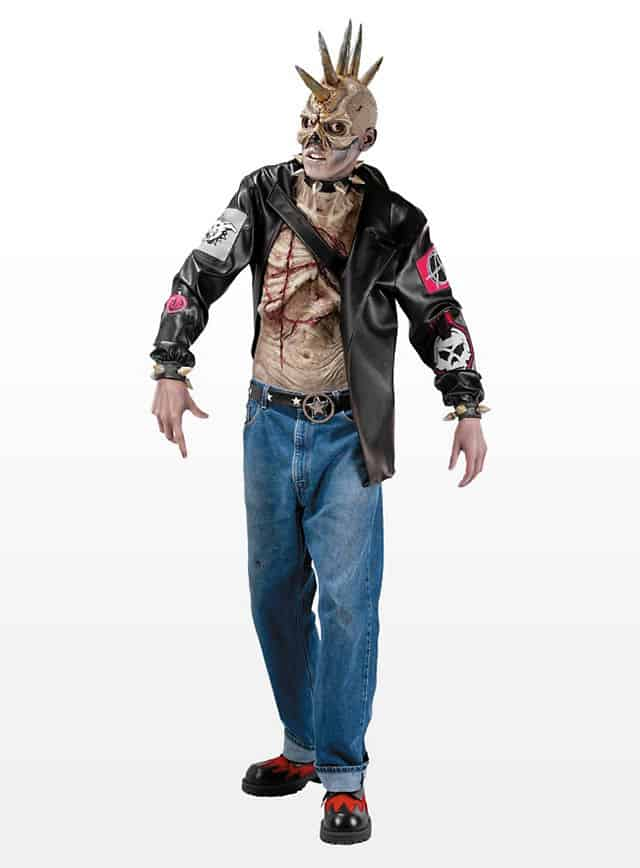 Punk Zombie Kostüm-117257