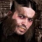 Werde zum Halloween monster Mr. Hyde
