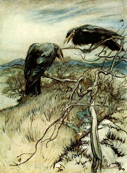 The Two Ravens - Public Domain