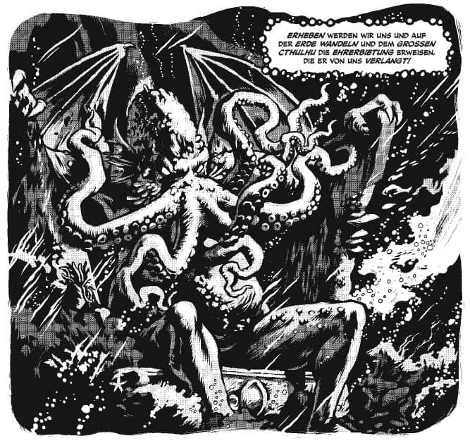Lovecraft Vom Jenseits Ausschnitt