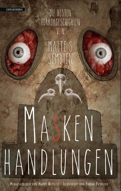 """Buchcover """"Maskenhandlungen"""""""