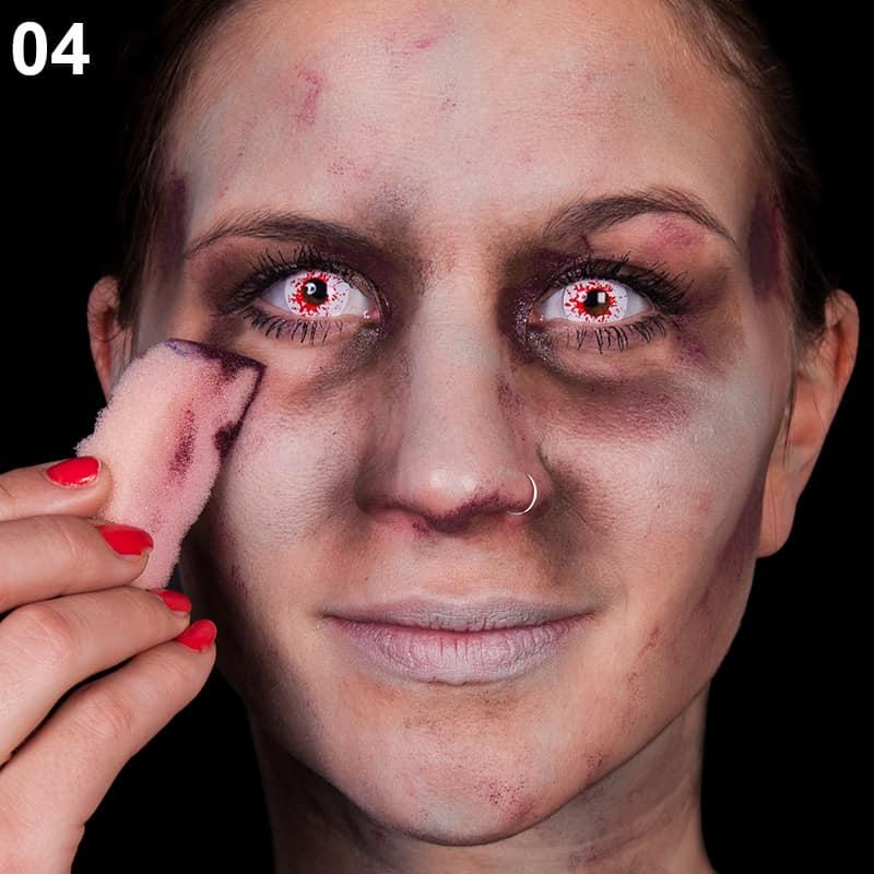 Schminkanleitung Fur Ein Zombie Funkenmariechen Halloween De