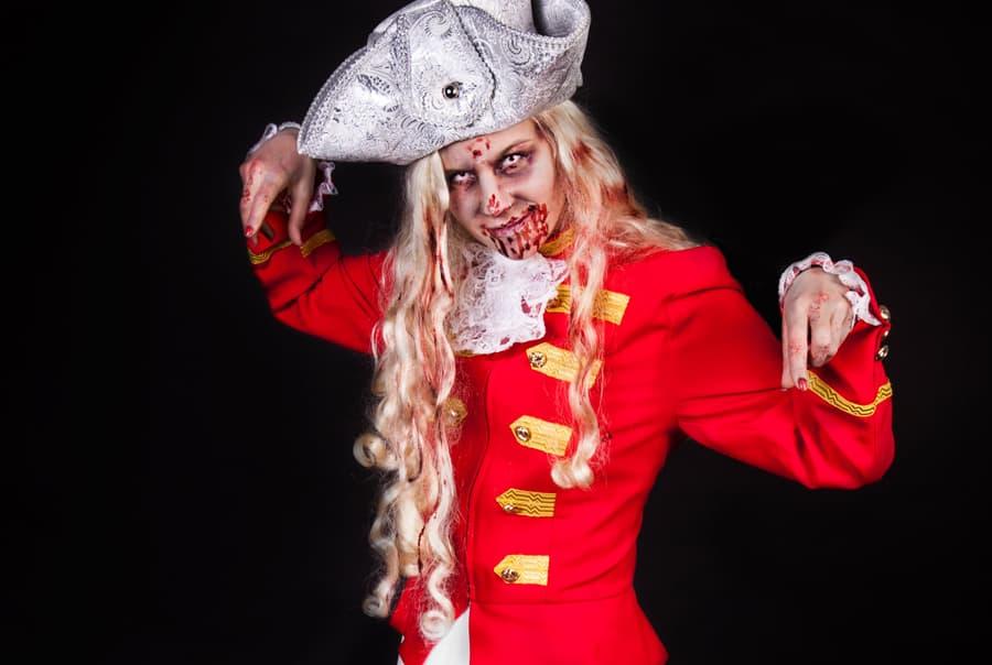 Zombie Schminkanleitung für Fasching und Karneval