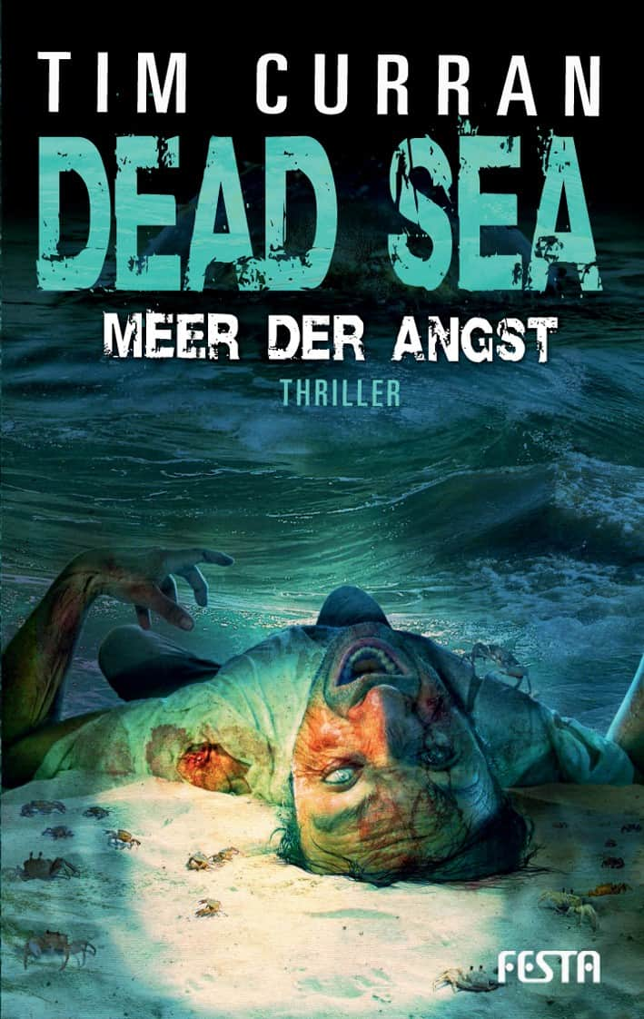 "Deutsches Buchcover ""Dead Sea"""