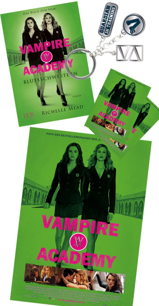 Vampire Academy Verlosungs Items