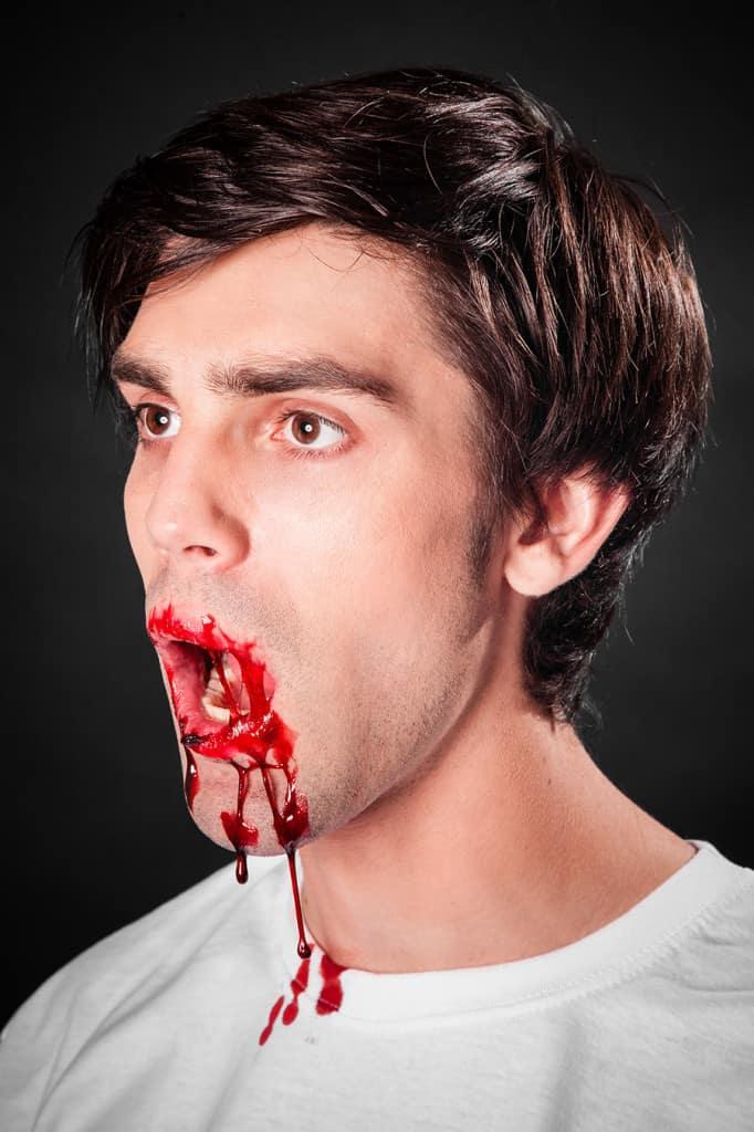Blutgel Bluteffekte Wunden schminken