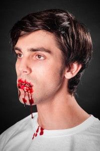Mit Blutgel filmreife Bluteffekte erzeugen