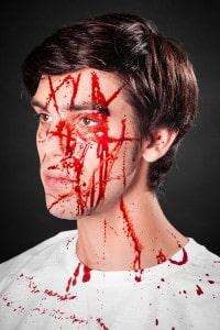 Blutspray Wunde Kunstblut