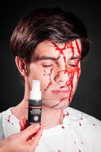 Blutspray  Zombie Blut Wunden schminken