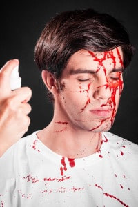 Blutspray  Zombie-Blut Wunden schminken