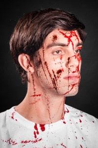 Blutspray Filmblut Blut schminken