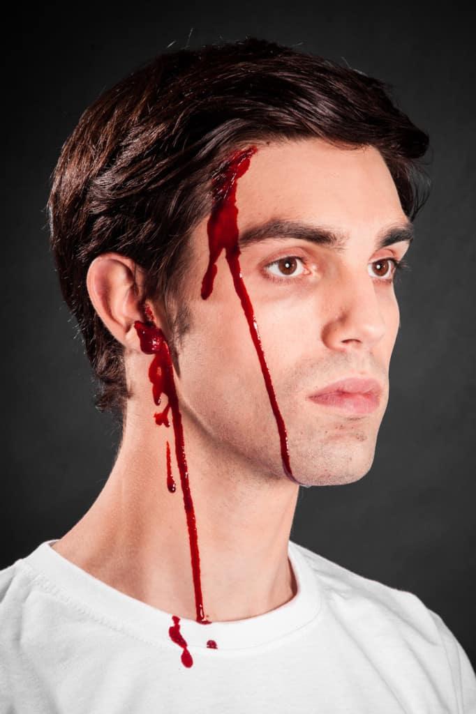 Kunstblut Blut schminken