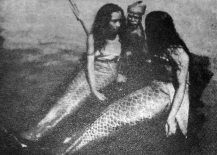 Meerjungfrauen-Filmstill