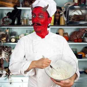 Halloween Rezept Zombiekuchen Vorbereitung