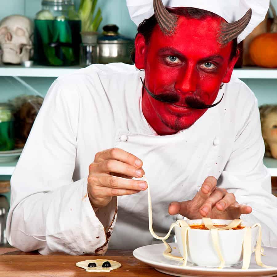 Halloween Rezept Tentakelsuppe Zubereitung (8)