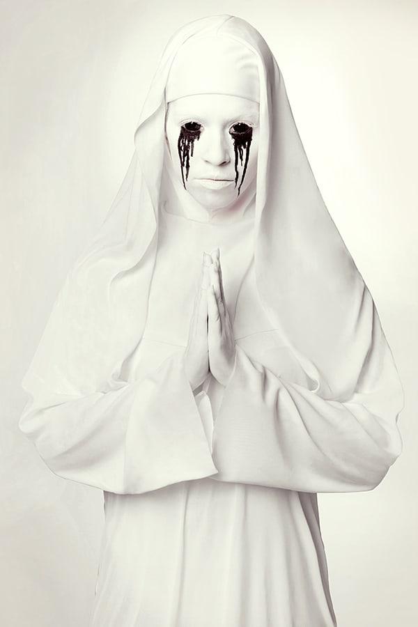 Halloween-Schminktipp-Horror-Nonne