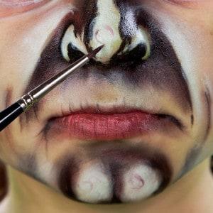 Hexe Kinderschminken Nase