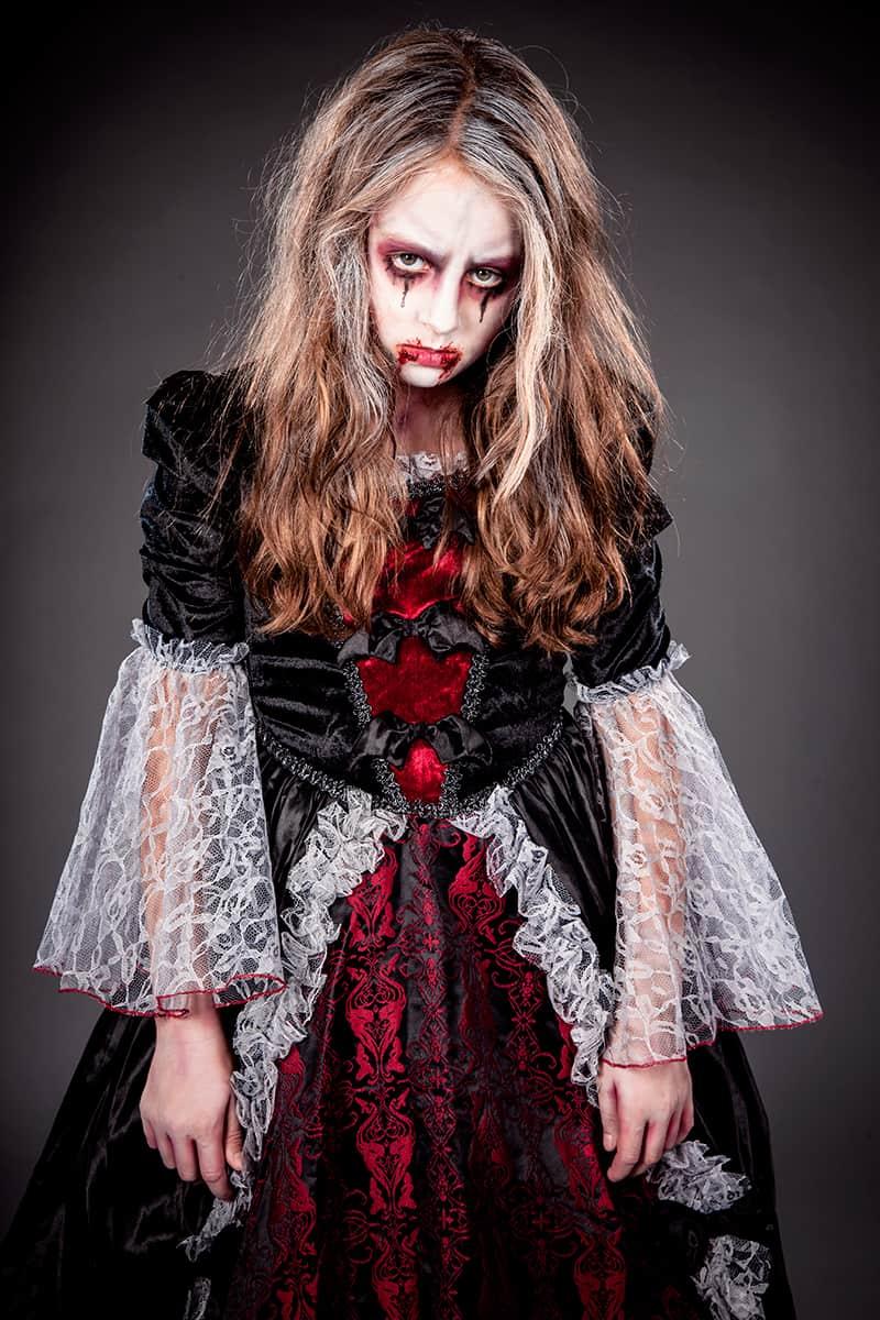 Kinderschminken Vorlagen Vampir