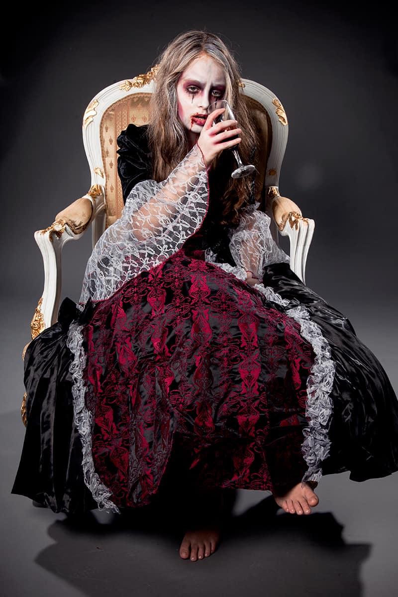 Kinderschminken Vampir Dracula