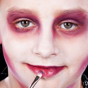 vampir make up kinder