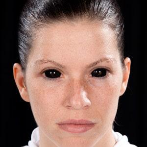 Halloween Verkleidung Horror Nonne Kontaktinsen