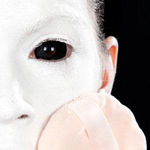 Halloween Schminkanleitung Unheimliche Horror Nonne