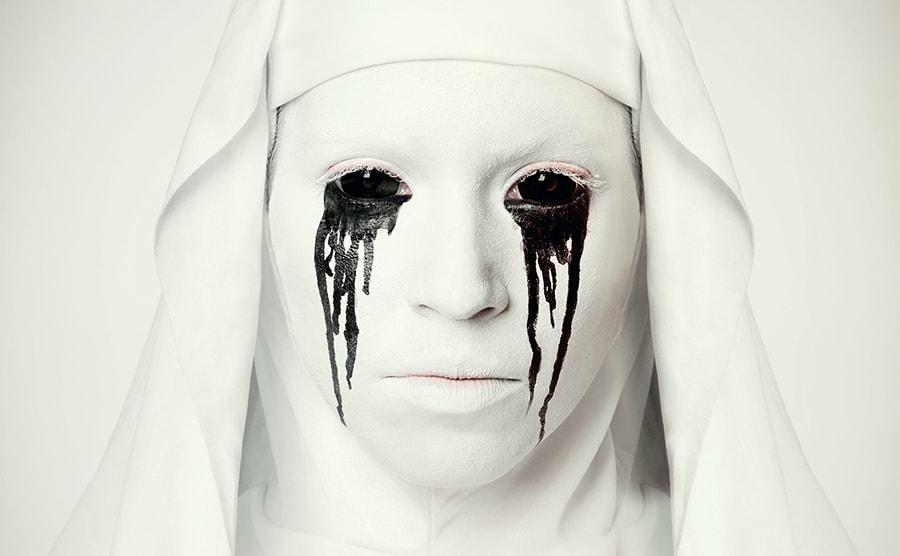 Horror Nonne Schminktipp Halloween