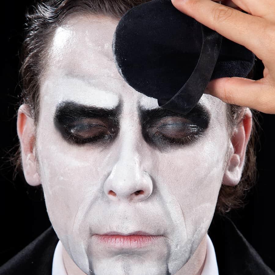 Ansprechend Halloween Schminken Männer Galerie Von Saw Puppe
