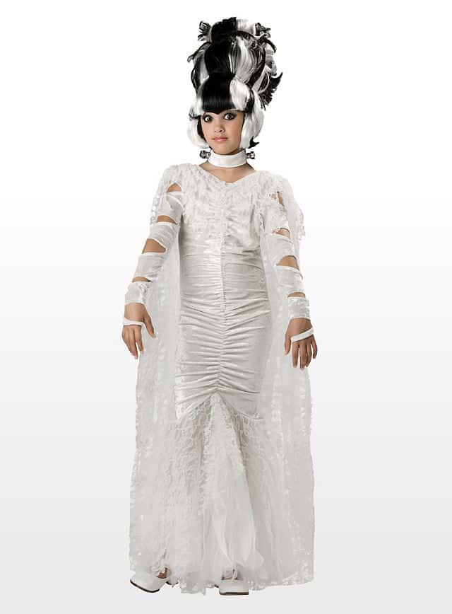 Halloween Kostüm für Kinder - Frankensteins Braut